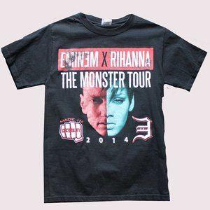 2014 Eminem & Rihanna Monster Tour Band T-Shirt